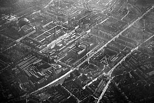 Kensington from the air in 1909
