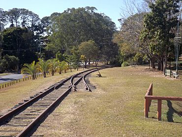 Kilcoy railway at Wamuran Queensland.jpg