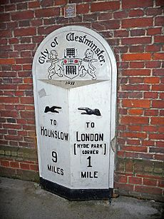 Milestone, Knightsbridge, London - geograph.org.uk - 1590514