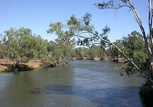 List Of Rivers Of Australia For Kids Kiddle - A long river