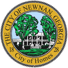 Official seal of Newnan, Georgia