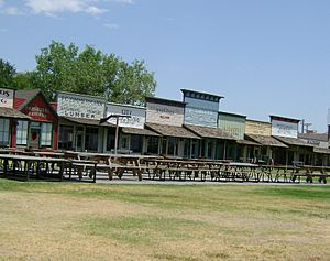 Boot Hill Museum Shops-East