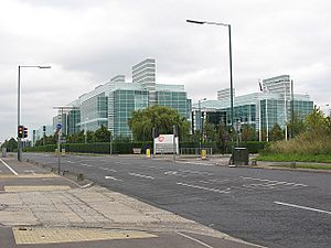 Glaxo Smith Kline research unit, Harlow - geograph.org.uk - 1444766