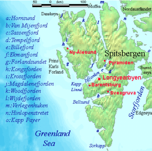 Spitsbergen marine features with towns labelled copy