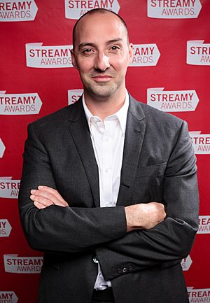 Tony Hale at the 2010 Streamy Awards (cropped)
