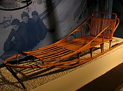 ADK Museum - Dog Sled