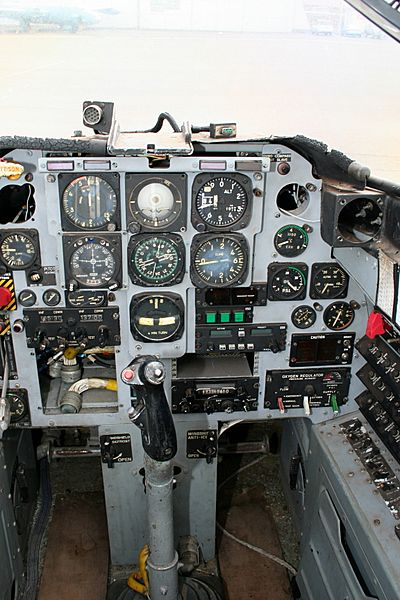 Aermacchi MB-326 Front Seat Cockpit