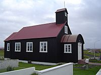 Church Hafnir Iceland 2004