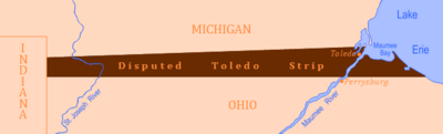 Disputed Toledo Strip