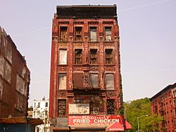 Harlem condemned building