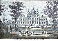 Iranistan, Residence of P.T. Barnum, 1848