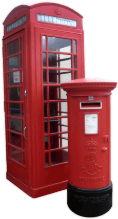 K6 Telephone Box and Edward VII Pillar Box Amberley