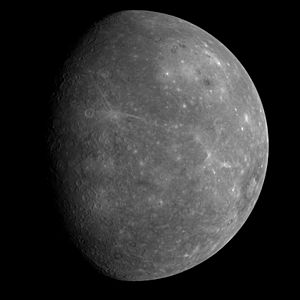 MESSENGER first photo of unseen side of mercury