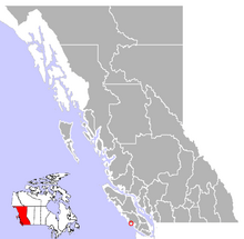 Where Ucluelet is found in British Columbia