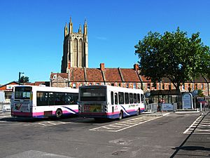Wells bus station First 66160 42825