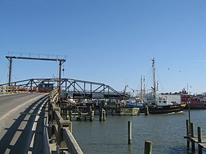 Chincoteague Channel Swing Bridge 002