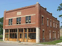 The Joseph Jackson Hotel, a historic site in the community