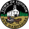 Official seal of Loudon, New Hampshire