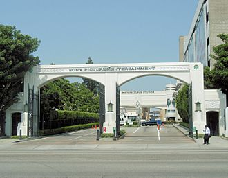 Sony Pictures Entertainment entrance 1.jpg