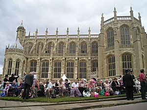 St George's Chapel Garter Day