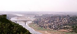 View of Jammu and the Tawi River
