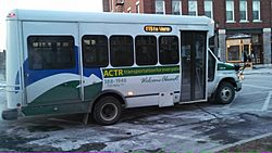 ACTR bus Middlebury