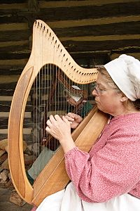 Celtic harps