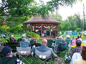 Concert on Wanakena Green