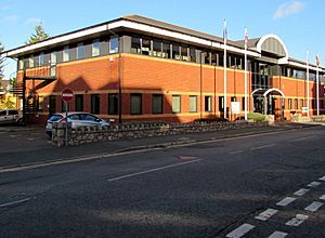 National Assembly building Colwyn Bay geograph-4839453-by-Jaggery