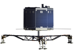 Philae lander (transparent bg)