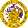 Official seal of Mobile, Alabama