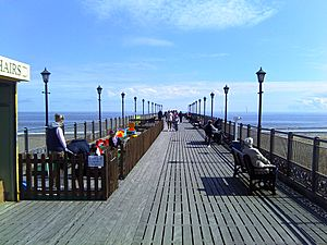 Skegness Pier Deck
