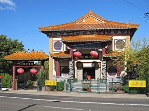 Summer Hill temple