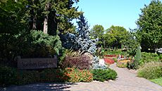 Sunken Gardens in Lincoln NE