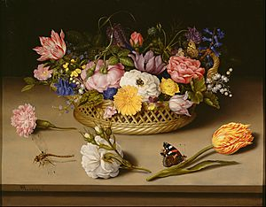 Ambrosius Bosschaert the Elder (Dutch - Flower Still Life - Google Art Project