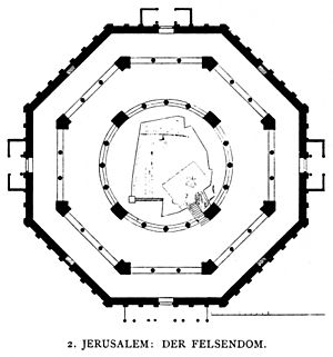 Dehio 10 Dome of the Rock Floor plan