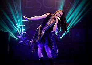 Evanescence at The Wiltern theatre in Los Angeles, California 02