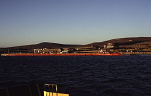 Lyness - coming into the ferry terminal (geograph 1645433).jpg