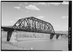 West Brownsville Junction Bridge, spanning the Monongahela River
