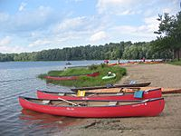 Ricketts Glen State Park Canoes