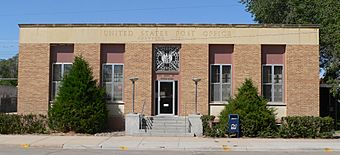Crawford, Nebraska post office from S.JPG