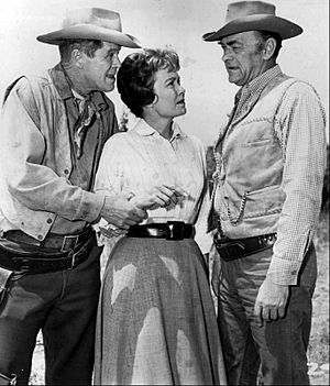 Dan Duryea Jane Wyman John McIntire Wagon Train 1962