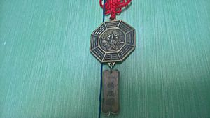 I-Ching pendant (reverse)
