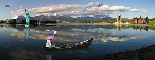 Photomontage (Forggensee Panorama) -2