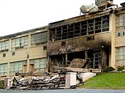Skyline Parkway Motel Burned