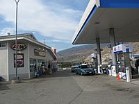 Cache Creek, British Columbia at the Chevron Station