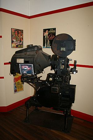 Majestic Picture Theatre (2007), Old Simplex projector used from 1930 to 1984