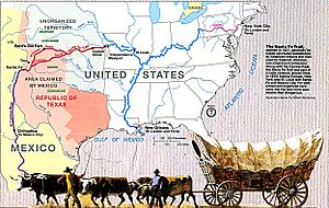 Map of Santa Fe Trail-NPS