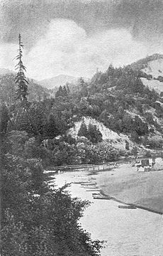Russian River at Rio Nido, California (circa 1910s)