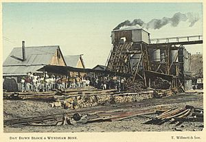StateLibQld 1 258426 Day Dawn Block and Wyndham Mine, Charters Towers, 1904